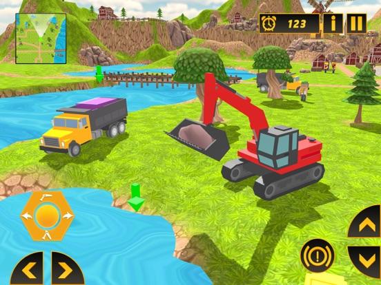 Heavy Crane Excavator 2018 screenshot 9