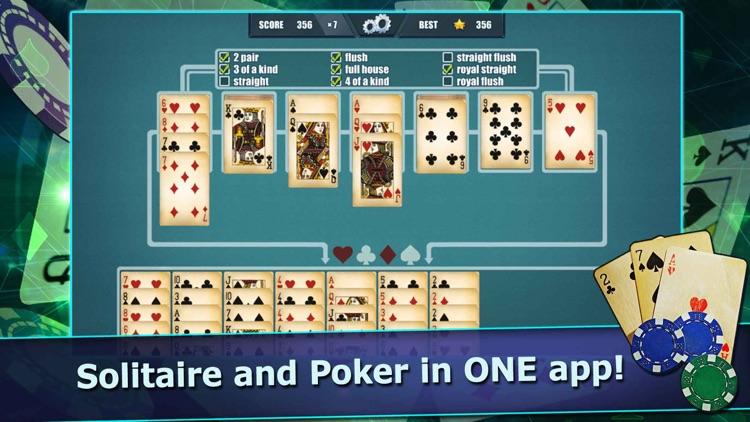 Pokitaire! Poker & Solitaire screenshot-0