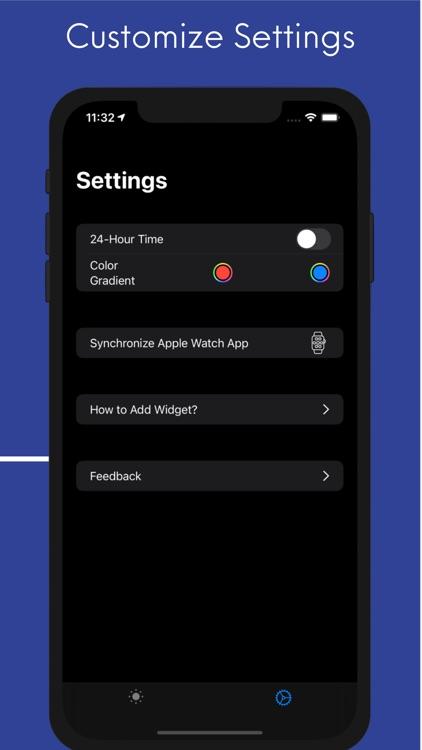 Planetary Hours Widget screenshot-4