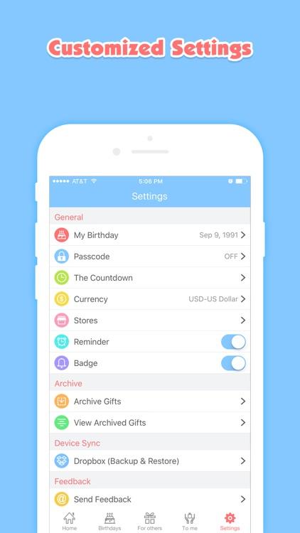 Birthday Planner Pro screenshot-4
