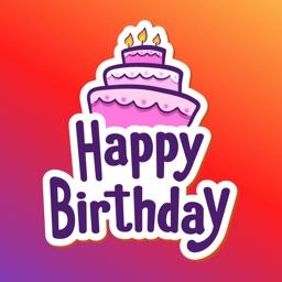 Happy Birthday Party Cake Wish