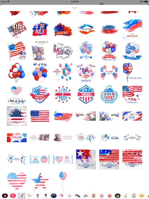 4th of July - Watercolor Pack screenshot 9
