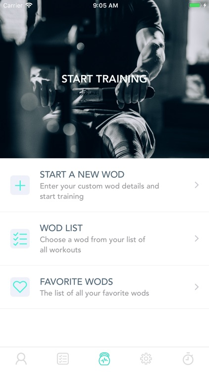 WodLog - optimize your Wod