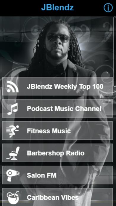JBlendz screenshot one
