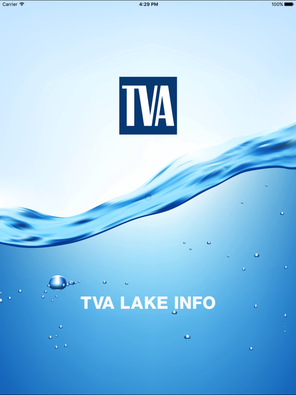TVA Lake Info-ipad-1