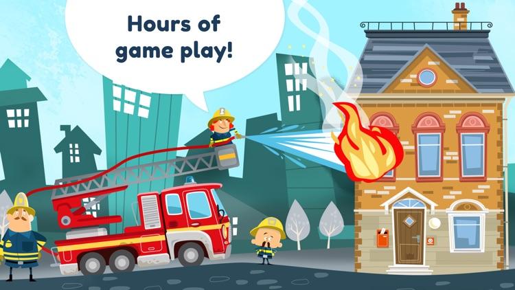 Little Fire Station For Kids screenshot-3