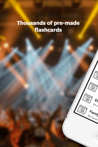 NCE Flashcards - náhled
