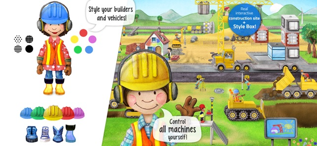 ‎Tiny Builders - App for Kids