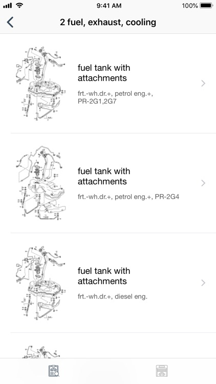 Car parts for Audi - diagrams screenshot-7