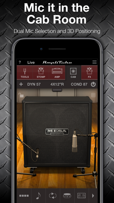 Screenshot #2 pour AmpliTube MESA/Boogie