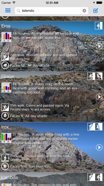 Kalymnos Rock Climbing Topo screenshot-2