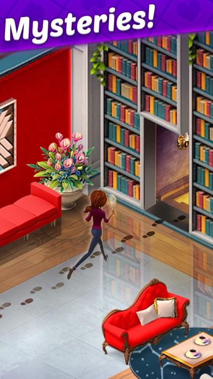 Solitaire Story: Ava's Manor screenshot-9