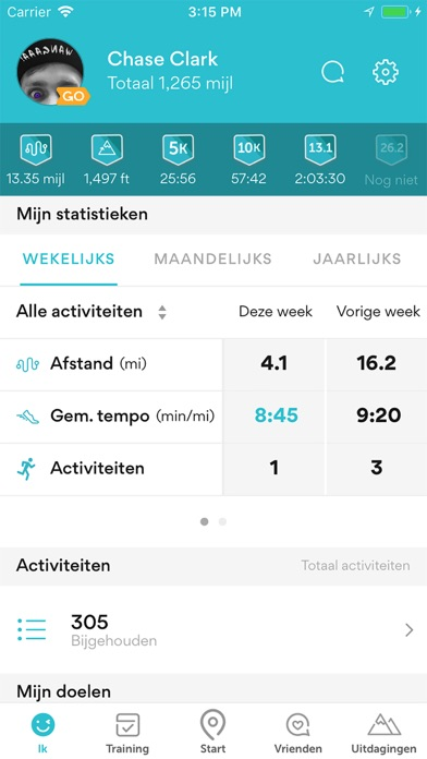 Runkeeper - Sport-app met gps iPhone app afbeelding 4