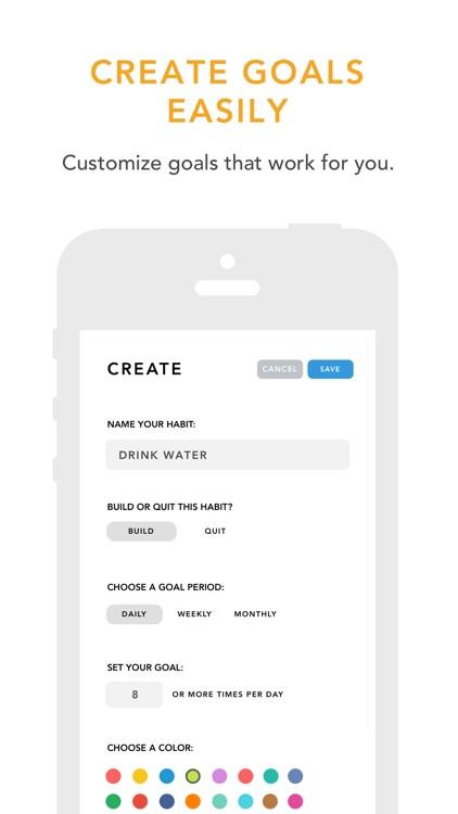 Done: A Simple Habit Tracker screenshot-4