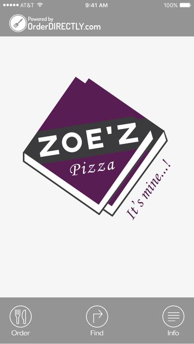 Zoe'z Pizza, Woking screenshot 1