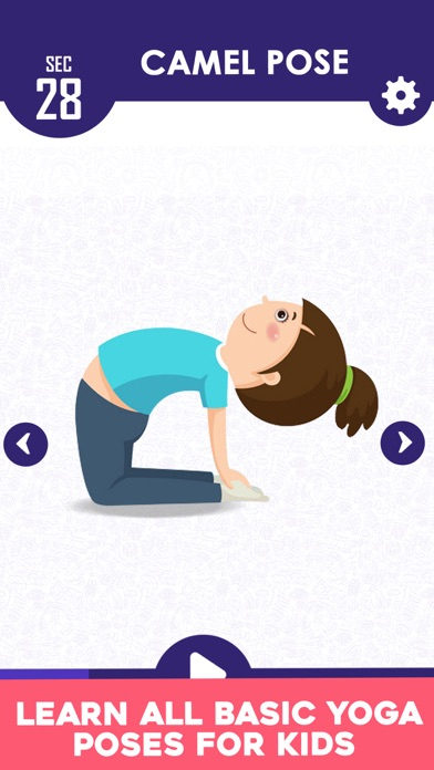 Yoga For Kids Daily Fitness screenshot two