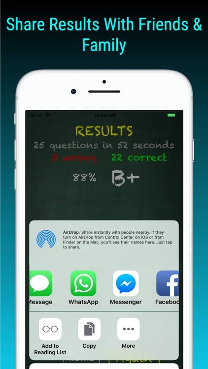 TimesX Lite Times Tables Quiz screenshot-8