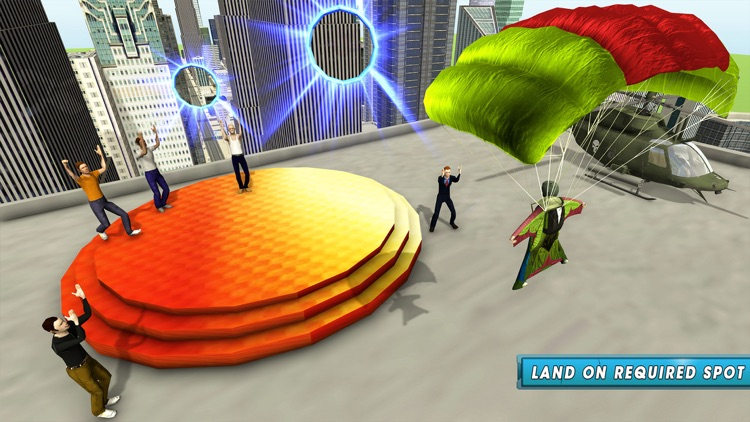 Skyman Stunt Hero 3d screenshot-3