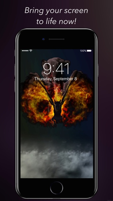 Amazing Touch Enabled Live Wallpapers! Bring your screen to life with our bold Live Wallpapers! Designed for iPhone X and iPhone 8 -- 8 Plus and iPhone 7 ...
