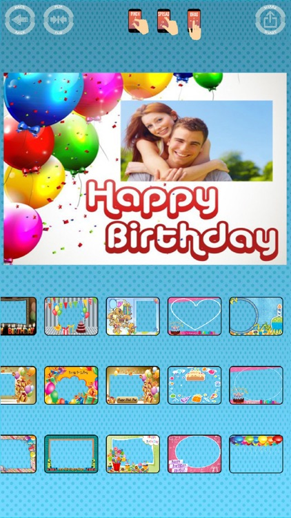 Happy birthday photos frames screenshot-4