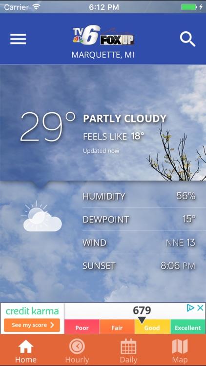 TV6 & FOX UP Weather