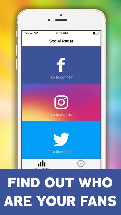 Social Account Radar