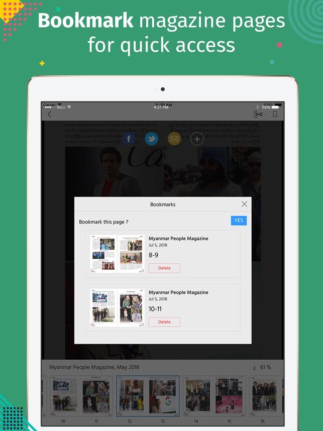 Myanmar People Mag on the App Store
