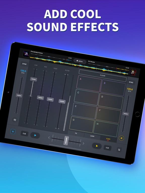 iPad Image of DJ it! Music Mixer・Virtual Pad
