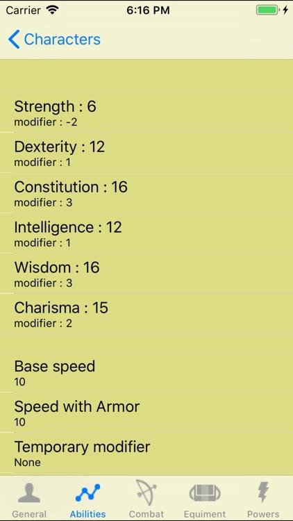PF Character Sheet - NoAds