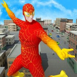 Spider Hero Rescue Mission
