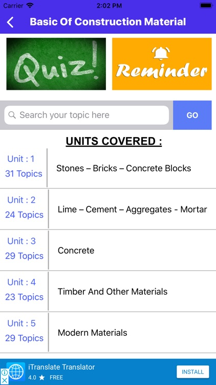 Basic Of Construction Material