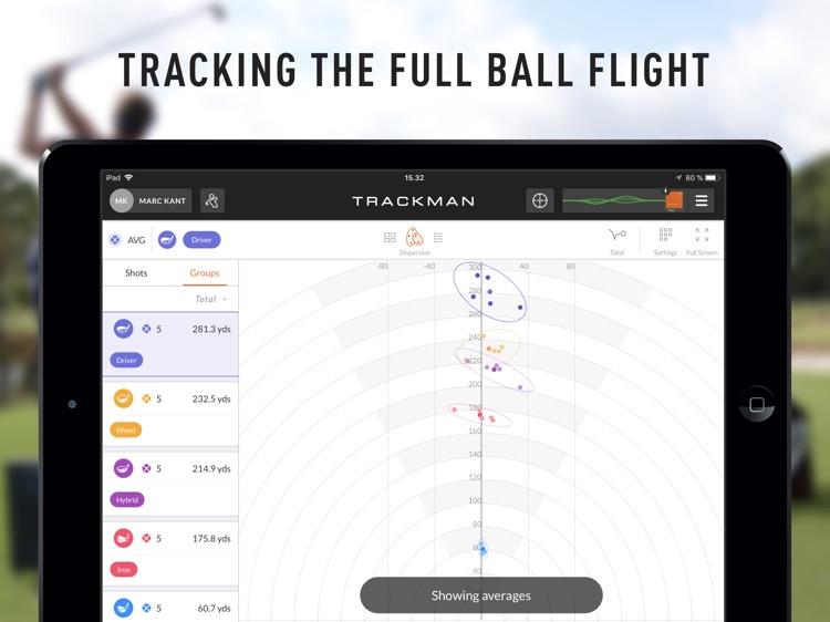 TrackMan Go screenshot-2