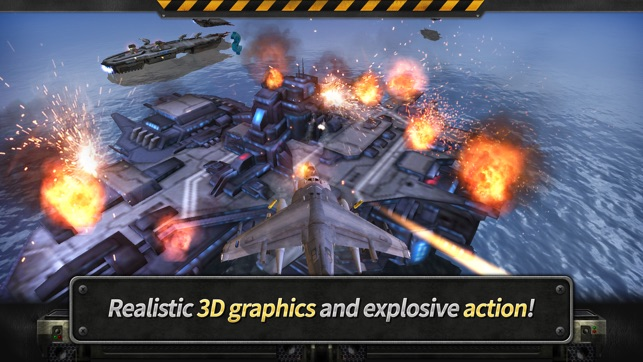 GUNSHIP BATTLE: 3D Action Screenshot
