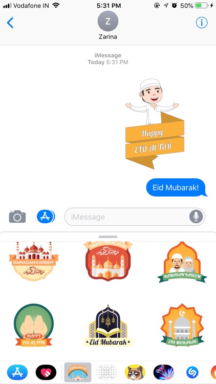 Islamic Stickers - Eid Sticker screenshot-0