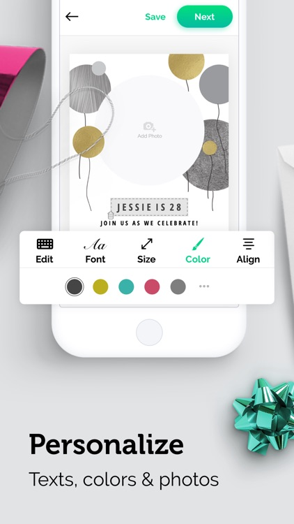 Invitation Card Maker Studio screenshot-3