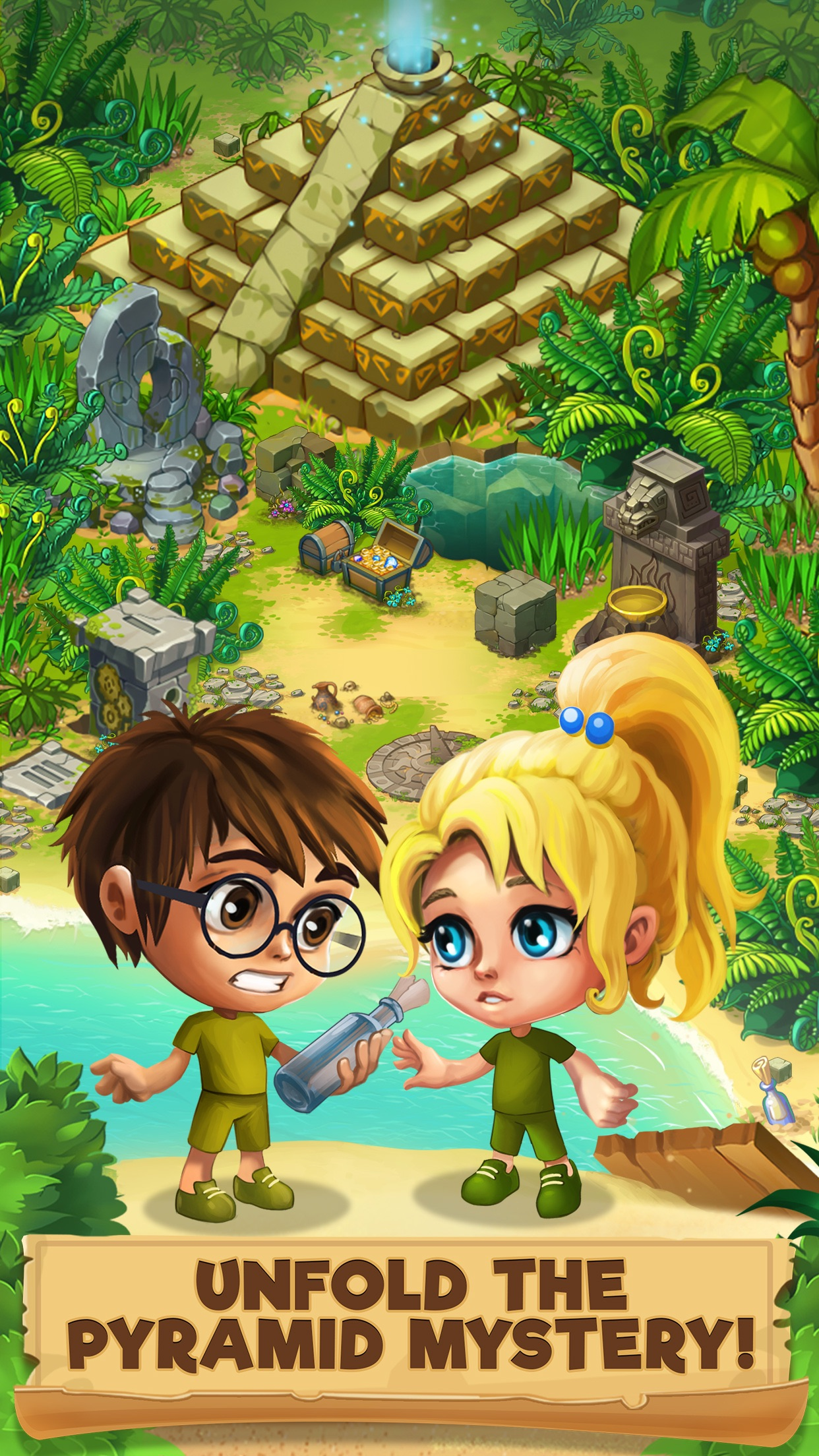 Island Experiment Screenshot
