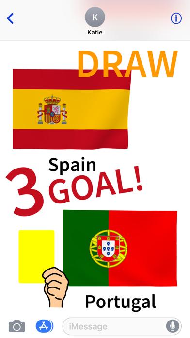 Top 32 World Soccer FlagsScreenshot of 1