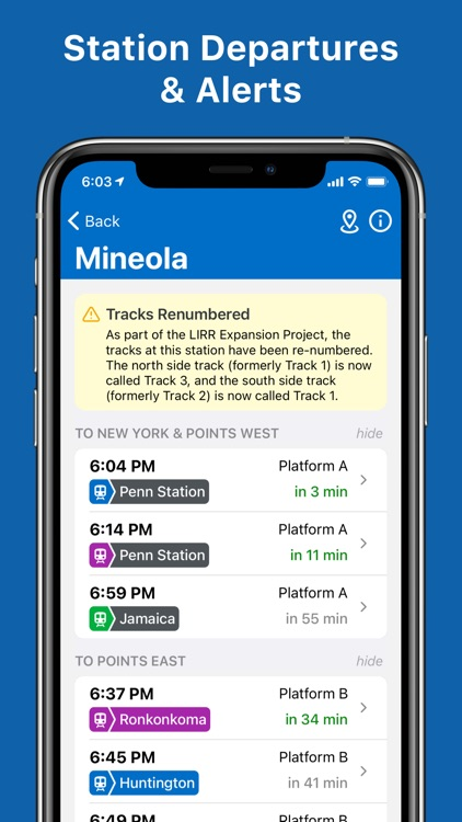 LIRR TrainTime screenshot-6