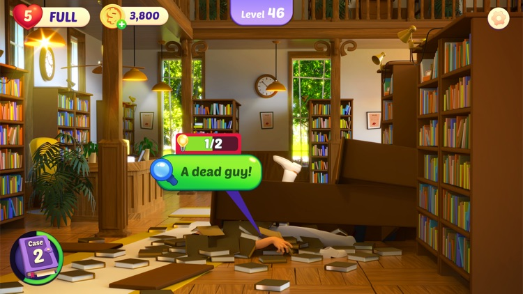 Small Town Murders: Match 3 screenshot-9