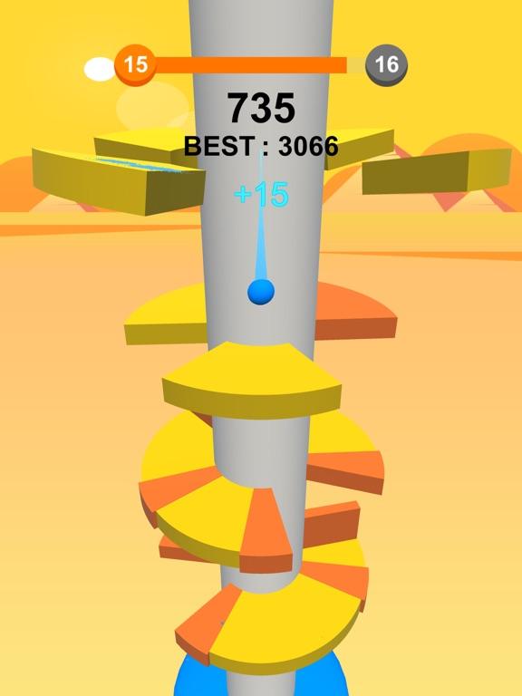 Jump Ball-Bounce On Tower Tile-ipad-2