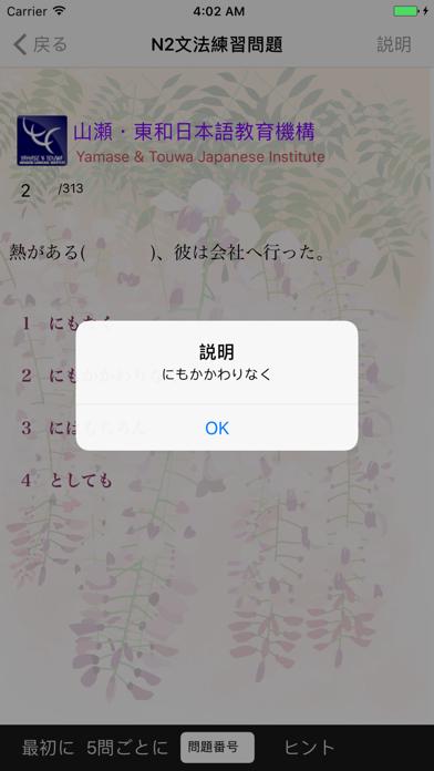 JLPT N2 文法 screenshot 8