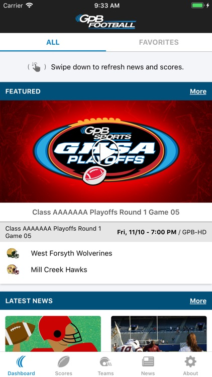 GPB Sports: Football screenshot-0