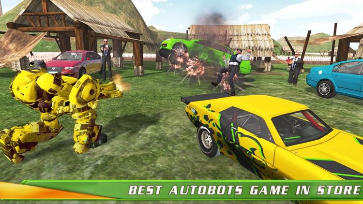 Robot Action Transforming Hero screenshot-3