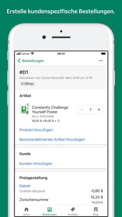 Shopify: Mobiler E-CommerceScreenshot von 8