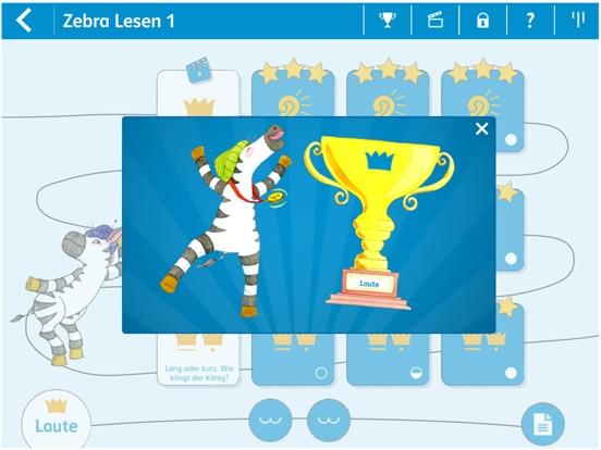 Lesen lernen 1 mit Zebra Screenshots