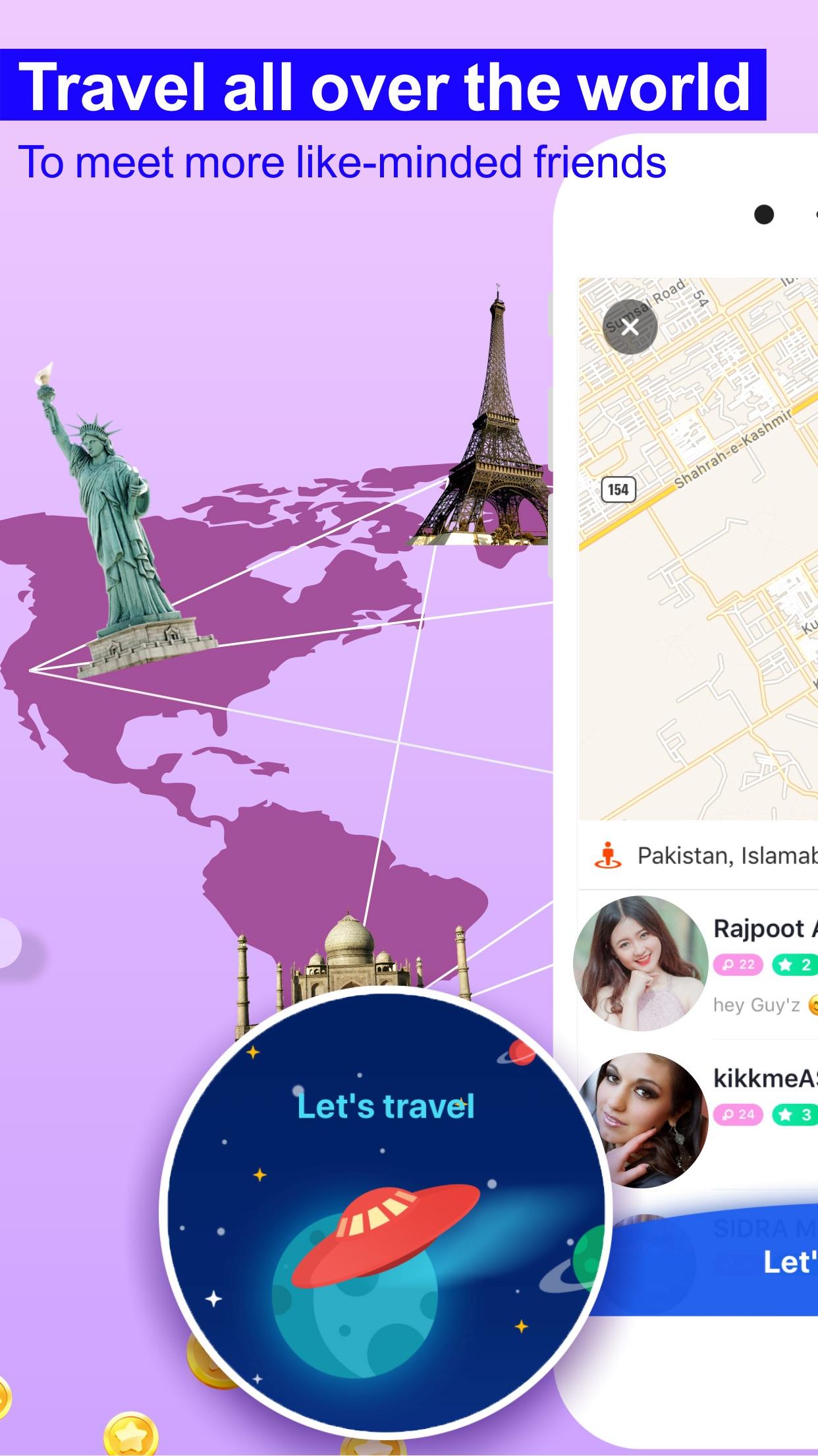 Mico - Stranger Chat & Meet Screenshot