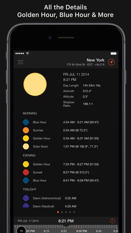 Sun Surveyor (Sun & Moon) screenshot-6