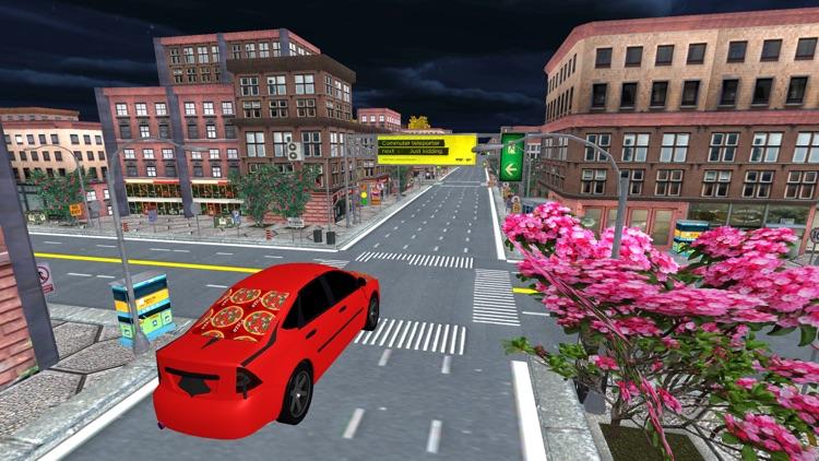 City Pizza Delivery Car Drive screenshot-3