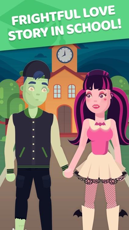 High School Monster Date: Game