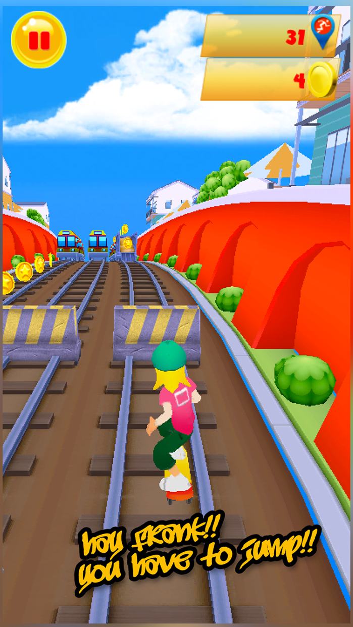 Railway Surfers Screenshot